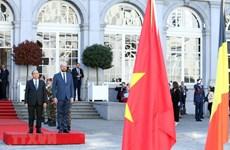 PM Nguyen Xuan Phuc actives in Belgium