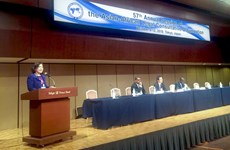 Vietnam contributes to discussion of int'l law development