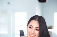 Tran Tieu Vy prepares for Miss World 2018