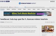 Vietnam among top spots for Korean winter tourists