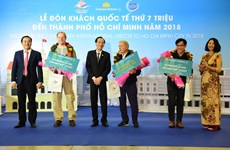 Ho Chi Minh City welcomes 7 millionth visitor