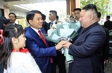 Hanoi mayor welcomes DPRK chairman