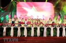 Art programme in Quang Tri marks National Reunification Day