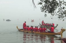 Dragon boat racing to promote Hanoi tourism