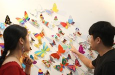 Unique exhibition by RoK artist in Hanoi
