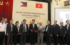 Philippine businesses eye Vietnam's electrical products