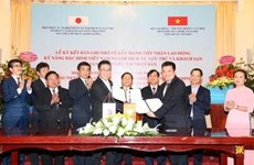Deal brings more opportunities to VN labourers to work in Japan