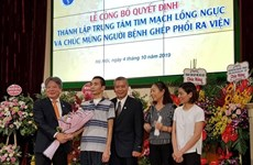 First lung transplant recipient in Vietnam discharged from hospital