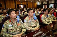 Vietnam dispatches second Level-2 Field Hospital to South Sudan