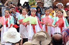 Cham people honour Gods, ancestors at Kate Festival