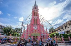 Tan Dinh Church among world's best rosy destinations