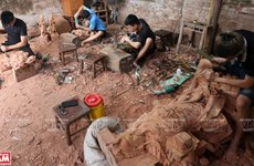 Van Ha handicrafts – an ingenious combination of wood and craftsmanship