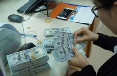 Reference exchange rate up 5 VND on October 27