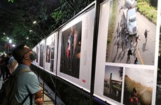 World Press Photo exhibition brings pressing global issues to Hanoi audiences