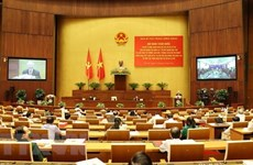 Speech of Party leader Nguyen Phu Trong at conference reviewing 12th Politburo's Directive 05