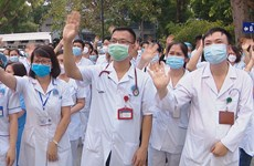 Hanoi medical staff set off to help southern Covid-19 hotspot