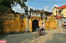 Centuries-old cultural space and traditional crafts in Cu Da Village
