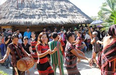 """Vietnam National Village for Ethnic Culture and Tourism – """"red address"""" of 54 ethnic groups"""