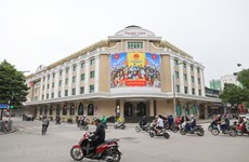 Hanoi's streets brightened up to welcome general election