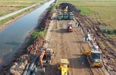 Thai Binh speeds up site clearance to boost economic development