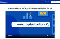 Online learning platform provides digital skills for Vietnamese workers