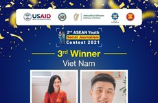 Vietnamese students among winners at ASEAN Youth Social Journalism Contest 2021