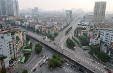 Hanoi streets sees bustle again as social distancing eased