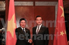 Vietnam, China FMs meet on sidelines of AMM 48