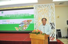 Ways sought to draw investment in agriculture, rural development