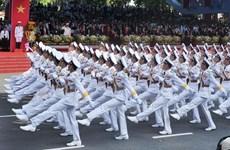 Lao officials congratulate Vietnam on National Day