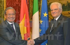 Italian President hopes for closer Vietnam-Italy ties