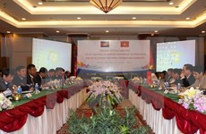 Senior officials discuss ways to reinforce Vietnam-Cambodia ties