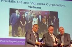 Viglacera receives British Council award