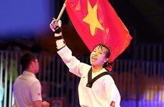 Vietnamese taekwondo artist wins best athlete in Morocco