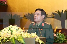 Vietnam's high-ranking military delegation visits Laos