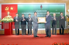Hanoi bourse launches first New Year session