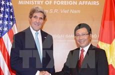 Top diplomats talk Vietnam-US relations over phone