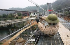 Tuyen Quang: six suspension bridges put into use