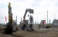 Work starts on Vigrlacera's industrial park in Thai Binh