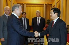 President receives Governor of Kaluga, Russia