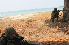 Ground combat exercise launched in Thailand