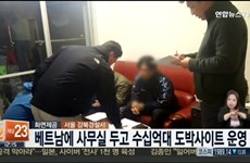 Sport betting ring with false Vietnam-based office busted in Korea
