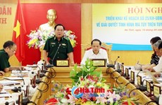 Vietnam, Lao districts to conduct joint anti-drug plan