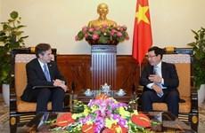 Vietnam FM, US Deputy Secretary of State discuss bilateral ties