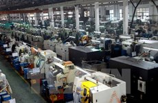 Industrial production index rises 7.3 percent in first four months