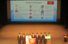 All Vietnamese contestants bag prizes at Asian Physics Olympiad