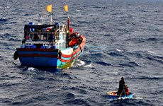 Vietnam boats save foreigners at sea