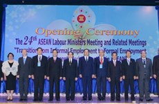 ASEAN labour ministers look to develop competitive workforce