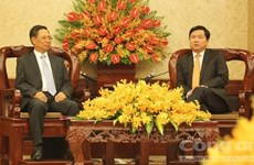 HCM City boosts ties with Lao locality