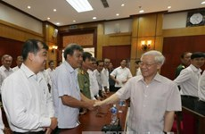 Party chief urges Tay Ninh to tap potential